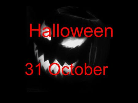 Halloween 31 October. Halloween Halloween (also spelled Hallowe'en) is an annual holiday celebrated on October 31. It has roots in the Celtic festival.