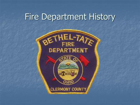 an introduction to the history of firefighting A brief history of fire and its uses - by ed semmelroth  through the centuries there has been such an intimate connection of fire with the cultural growth.