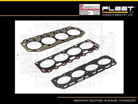 INNOVATIVE SOLUTIONS IN SEALING TECHNOLOGY. About FLEET Gaskets Fleet Gaskets India Pvt. Ltd. was established in India in 1999 with a technical know-how.