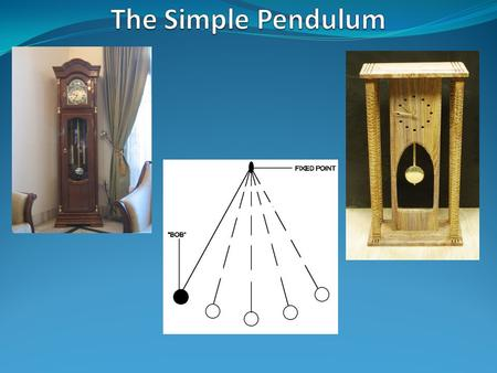 factors which affect the period time of a simple pendulum Answerscom ® wikianswers ® categories science physics mechanics waves vibrations and oscillations what factors affects the pendulum time period of a simple.