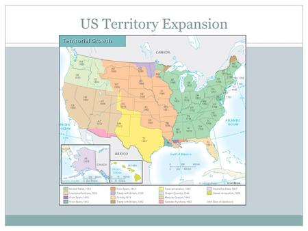 Map Of United States Circa Ppt Download - Map of us territories in 1803