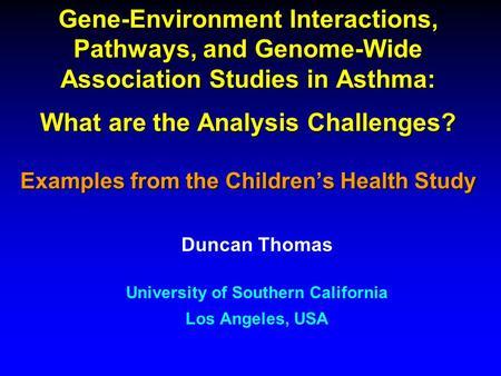 Candidate gene association studies: a comprehensive guide ...