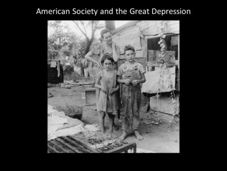 American Society and the Great Depression. Otis Steel Company, Cleveland, 1928.
