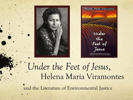 under the feet of jesus essay Full study guide for this title currently under development under the feet of jesus summary supersummary and essay topics.
