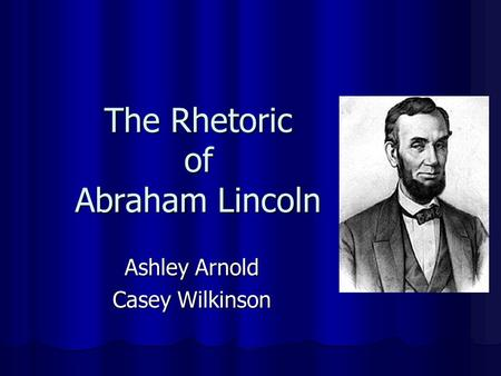 a rhetorical analysis of abraham lincoln's Download soapstone analysis form gettysburg address     analysis of abraham lincoln's  rhetorical analysis.