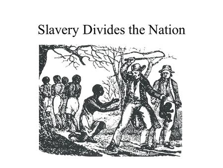 Slavery Divides the Nation. The Missouri Compromise As settlers moved west, congress faced an agonizing decision. Should it ban slavery in the territories.