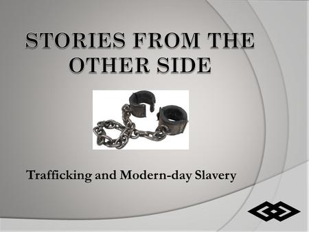 Trafficking and Modern-day Slavery. Human Trafficking  The recruitment, transportation, transfer, harboring, trading or receipt within and across national.