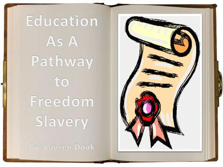 Education was a very important part of the slaves' process to obtain freedom Illiteracy rates among the non-white population fell from 80 percent in 1870.