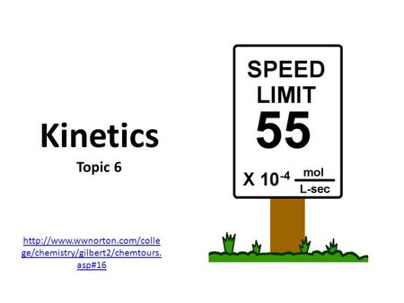 ib chemistry unit 6 kinetics Course description: the ib chemistry sl course is a year-long, second-year   unit 6 – kinetics (chapter 6)  unit 10 – organic chemistry (chapters 10 & 11.