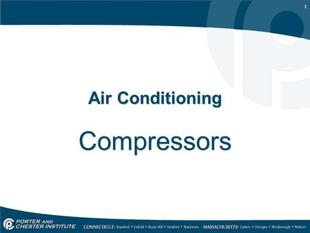Air Conditioning Compressors.
