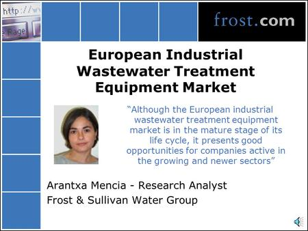 "European Industrial Wastewater Treatment Equipment Market ""Although the European industrial wastewater treatment equipment market is in the mature stage."