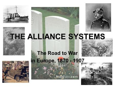 The Road to War in Europe,