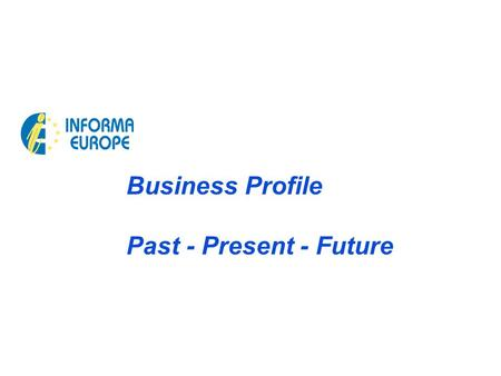 Business Profile Past - Present - Future. 2 Technology Processes, Platforms, Partners 2002-2009 Virtual Instructors 2002-2015 1to1 Knowledge 1997-2008.