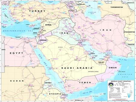 Background: Middle East Geographic position at the junction –Africa, Asia, and Europe.