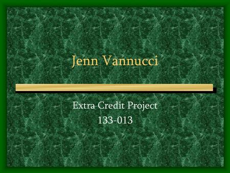 Jenn Vannucci Extra Credit Project 133-013. Irish Astronomy.