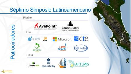 Patrocinadores Séptimo Simposio Latinoamericano. Ultimate SharePoint Best Practices Session.