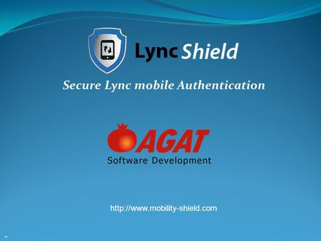 Secure Lync mobile Authentication