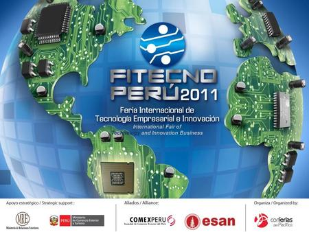International Fair of Technology and Innovation Business.