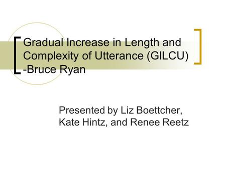 Presented by Liz Boettcher, Kate Hintz, and Renee Reetz