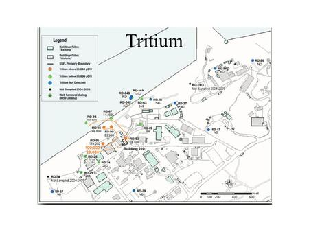 Tritium. Bldg 10 -- Site of SNAP8ER Reactor Accident.