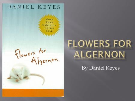 flowers for algernon progress report 13 pdf