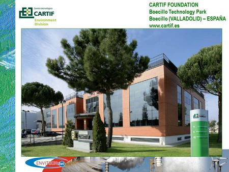 1 LCA Overview in an European Framework Applications, Challenges & Barriers CARTIF FOUNDATION Boecillo Technology Park Boecillo (VALLADOLID) – ESPAÑA www.cartif.es.