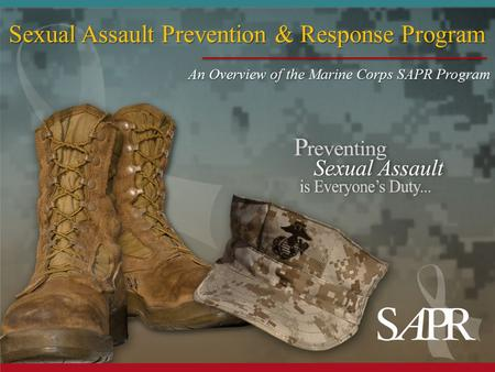 Sexual Assault Prevention & Response Program