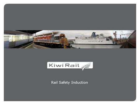 Rail Safety Induction. 2 2 SAFETY IS OUR FIRST PRIORITY 0800 808 400.