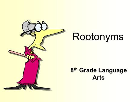 Rootonyms 8 th Grade Language Arts Free Template from www.brainybetty.com 2 Cept To take or recieve.