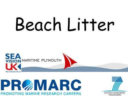 Beach Litter. What do we find on our beaches? What harm does it do? Where does it come from?
