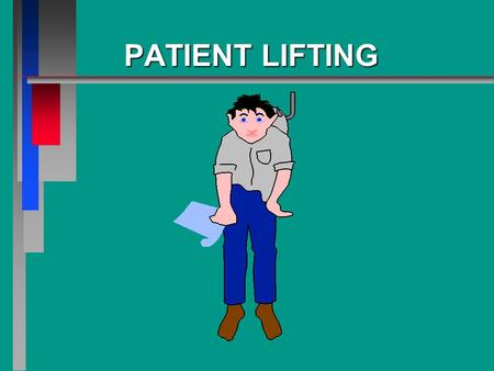 PATIENTLIFTING PATIENT LIFTING. OBJECTIVE n Identify the procedures for safely lifting a patient.