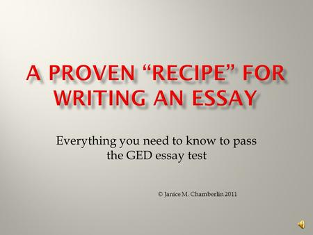 how to write an essay for the ged test education seattle pi