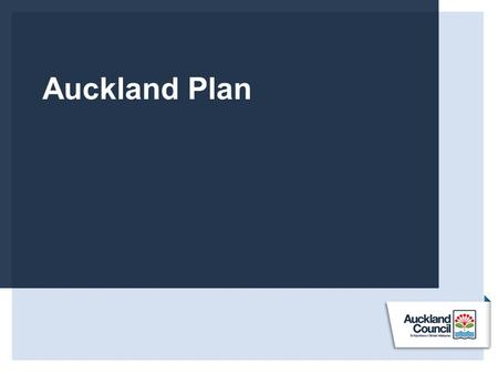 Auckland Plan. Hierarchy Strategic direction: Create a strong, inclusive and equitable society that ensures opportunity for all Aucklanders Priority: