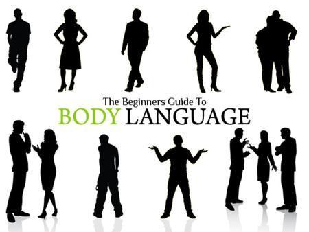 "Body language is nonverbal communication that involves body movement. ""Gesturing"" can also be termed as body language which is absolutely non- verbal."