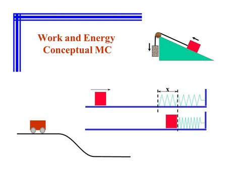 Work and Energy Conceptual MC