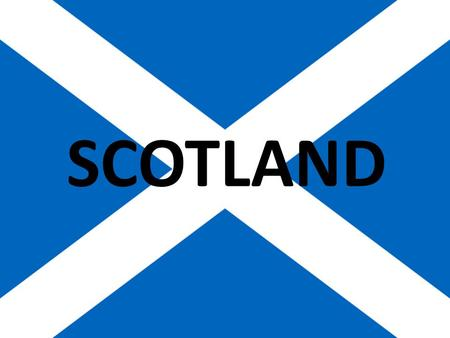 SCOTLAND. The Capital of Scotland is Edinburgh The Saint patron of Scotland is St. Andrew. St. Andrew's Day is on the 30th of November. The Symbol of.