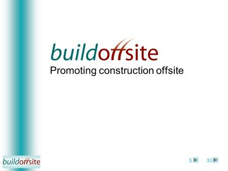 Promoting construction offsite 305. Richard Ogden Chairman - EVENT Date.