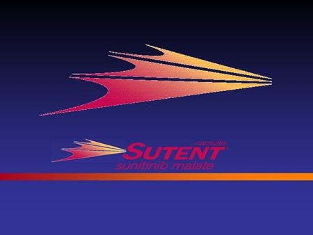 SUTENT  (sunitinib malate) capsules Access Slide Kit.