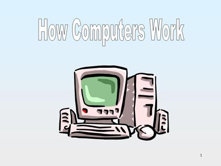 How Computers Work.