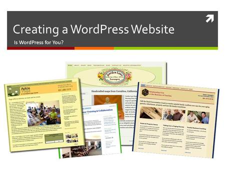  Creating a WordPress Website Is WordPress for You?