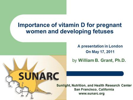 Health Benefits of Vitamin D : Prostate Cancer, Etc. A ...