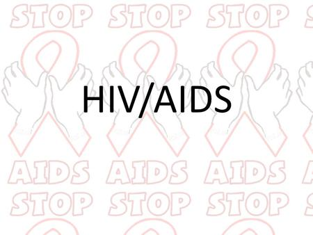 HIV/AIDS. What is HIV/AIDS? The human immunodeficiency virus The virus that causes acquired immunodeficiency syndrome Destroys a type of defense cell.