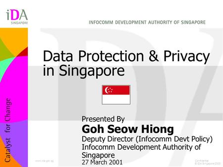 Data Protection & Privacy in Singapore