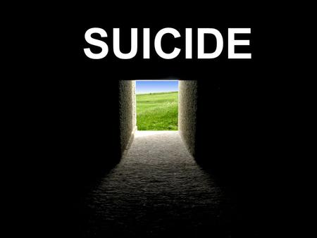 "SUICIDE. Mortido Freud says that all people have a ""death wish"" or mortido Mortido can show itself in: –Smoking –Drinking –Drug use –Sexual promiscuity."