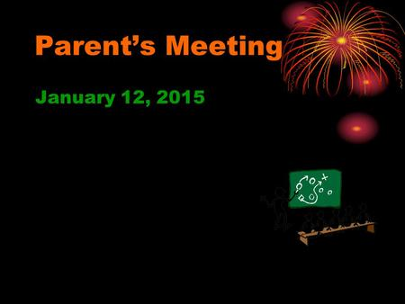 Parent's Meeting January 12, 2015. Agenda for parent meeting Objectives of the Athletic Department Eligibility for Athletic Participation Academic Eligibility.