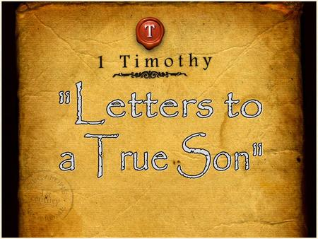 """Timothy, guard what has been entrusted to your care. Turn away from godless chatter and the opposing ideas of what is falsely called knowledge, which."