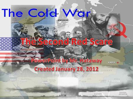 PowerPoint by Mr. Hataway Created January 28, 2012