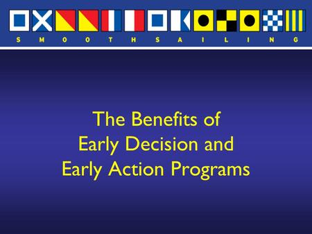 The Benefits of Early Decision and Early Action Programs.