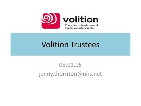 Volition Trustees 08.01.15
