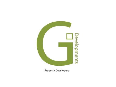 Property Developers. What is G.I. Developments ? G.I. Developments is the comprehensive management of all processes in the construction of residential.